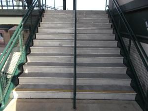Stairway to heaven...aka the press box