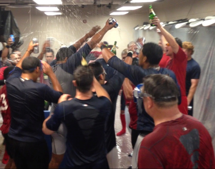 The best and worst day of the year for a clubhouse manager.