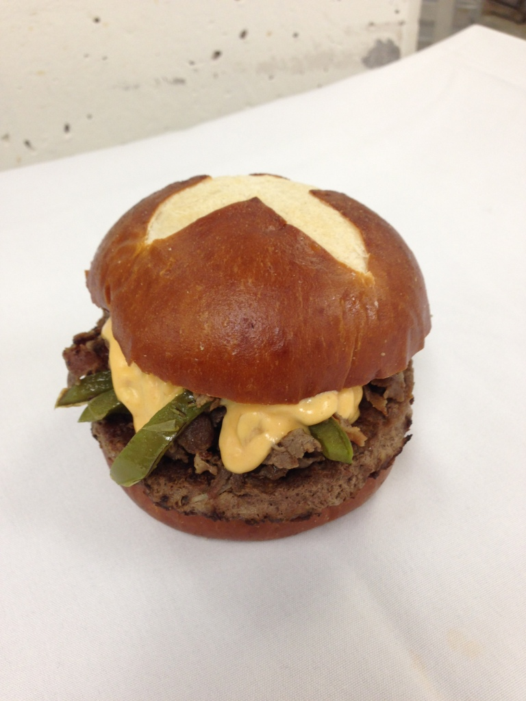 Philly Burger...coming soon to Burgertopia.